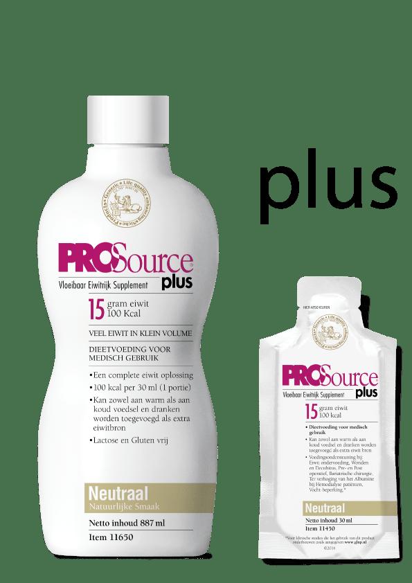 PROSource Plus fles en sachet